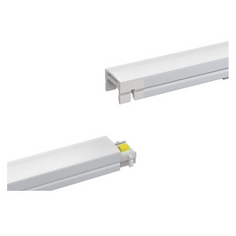 This modular mini light bar has a wide variety of adapters and connectors, making the installation highly customizable. Up to 16 feet (5 meters) can be connected to one power supply. The remote driver reduces heat and lengths the lifespan of the product.