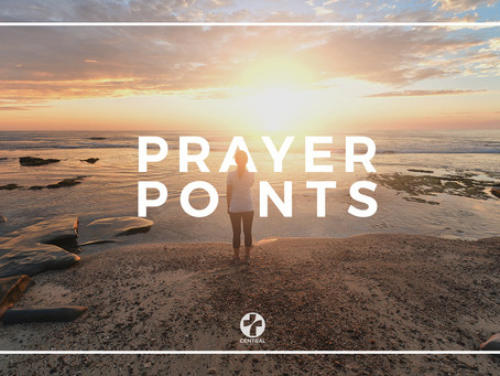 Prayer Points - Vol 38