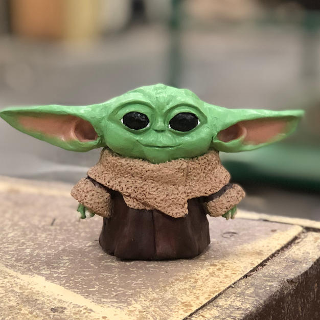 Sculpting - Mini Baby Yoda