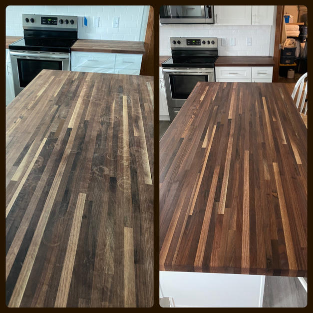 Countertop Re-Finishing