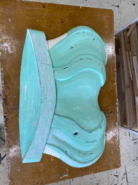 king's crown sculpt process