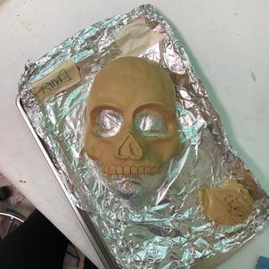 Scultping - Skull Mask form