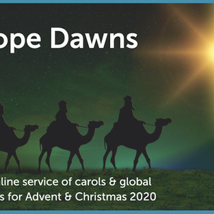 A hope-filled carol service