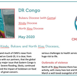 Update From DR Congo