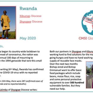 Updates From Burundi & Rwanda