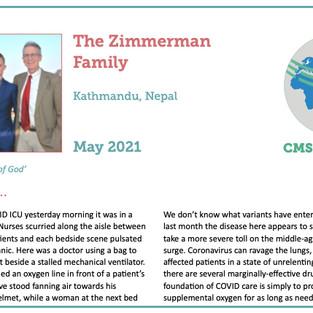Zimmerman Prayer Update