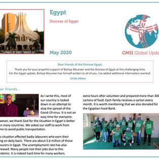 Updates From Egypt & Kenya