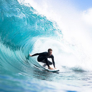 Surfing... it's all about timing