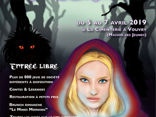 Convention du Lion Noir 2019: Dark Tales