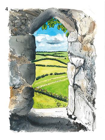 The Window of Roche's Castle