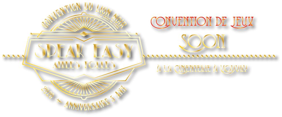 Convention du Lion Noir - jeux de sociét