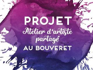 Projet: atelier d'artiste partagé