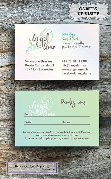 Création carte de visite et logo
