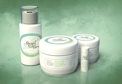 Création étiquettes produits cosmétiques