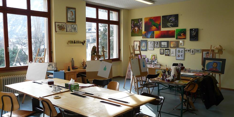 Exposition des travaux d'élèves de l'Atelier Arte Magica