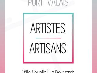 Expo des artistes et artisans de Port-Valais 2019