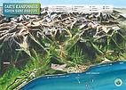 Carte randonnées St-Gingolph
