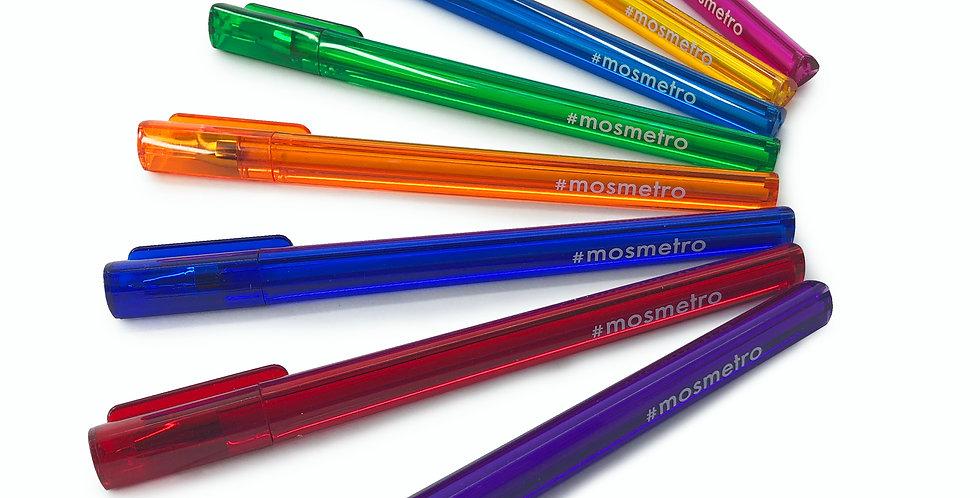 """Ручка шариковая """"Mosmetro"""", в ассортименте"""