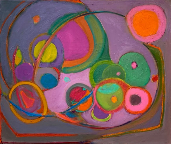 Purple Circles - $850