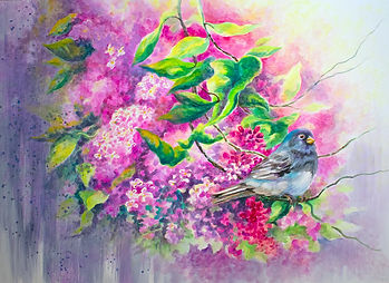 Lilac Rain