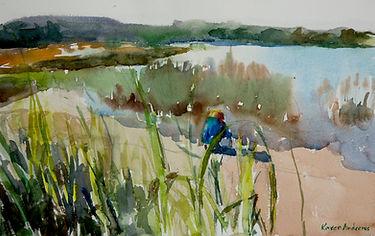 Boy In The Beach Grasses