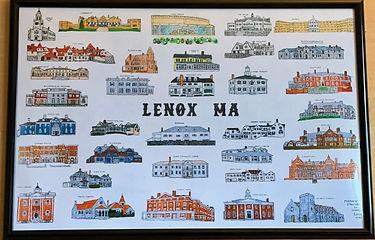 Prominent Bldgs of Lenox, MA