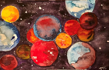 Marbles in Space