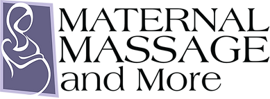 maternal massage and more logo