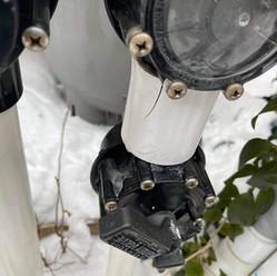 freeze cracked pool plumbing