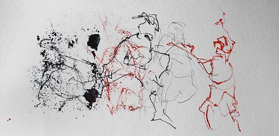 Getanzte Zeichung, Anja Sonneson