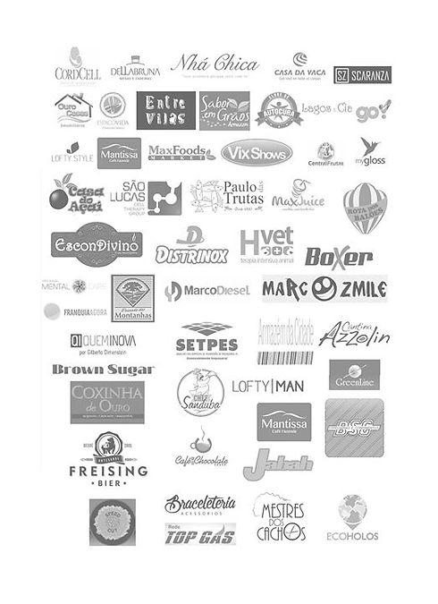 Veja, alguns clientes nossos e suas logo