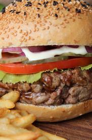 Hand Chopped Steak Burger