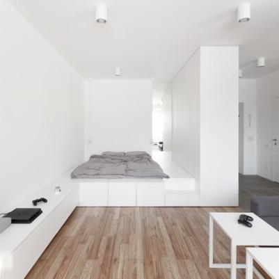 Espaços fluidos e visual minimalista