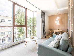 Projeto explora as melhores características do apartamento