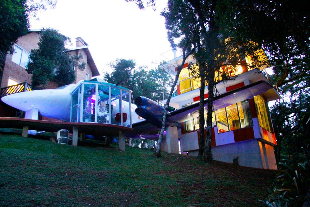 MINIMUMDESIGN QUARTO DE HOTEL AVIÃO