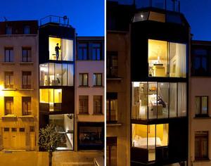 Casa em vários níveis