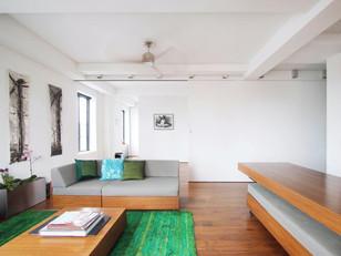 Espaço para o casal morar e trabalhar juntos