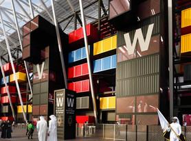 Copa de 2022 terá estádio feito de contêineres
