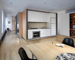 Soluções inteligentes em apartamento amplo