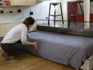 Antigo cômodo vira apartamento completo