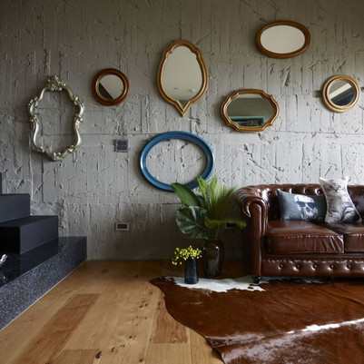 Mistura de estilos cabe neste apartamento