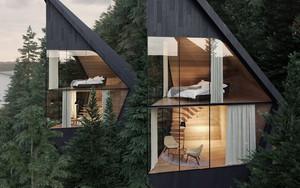 Casas inspiradas na natureza