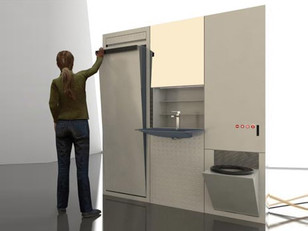 Banheiro ultra compacto