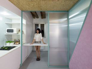 Filme encena vida em um apartamento compacto