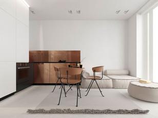 Apartamento elegante e minimalista