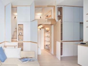 De 1 para 2 dormitórios com soluções simples