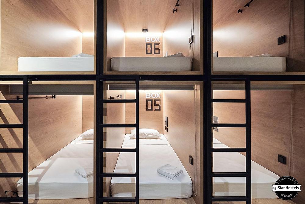 MINIMUM DESIGN HOTEL CAPSULA PEQUENOS ESPAÇOS