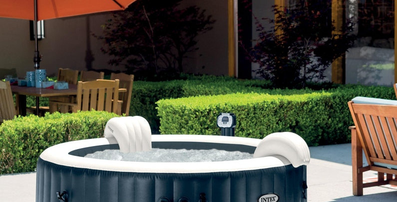 SPA Rond Bulles 6 PLACES Blue Navy