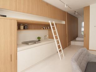 Dinamismo e sofisticação em 46 m²