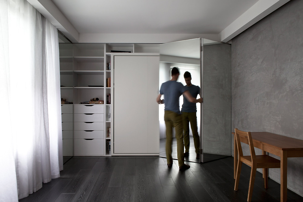 MINIMUM DESIGN APARTAMENTO COMPACTO